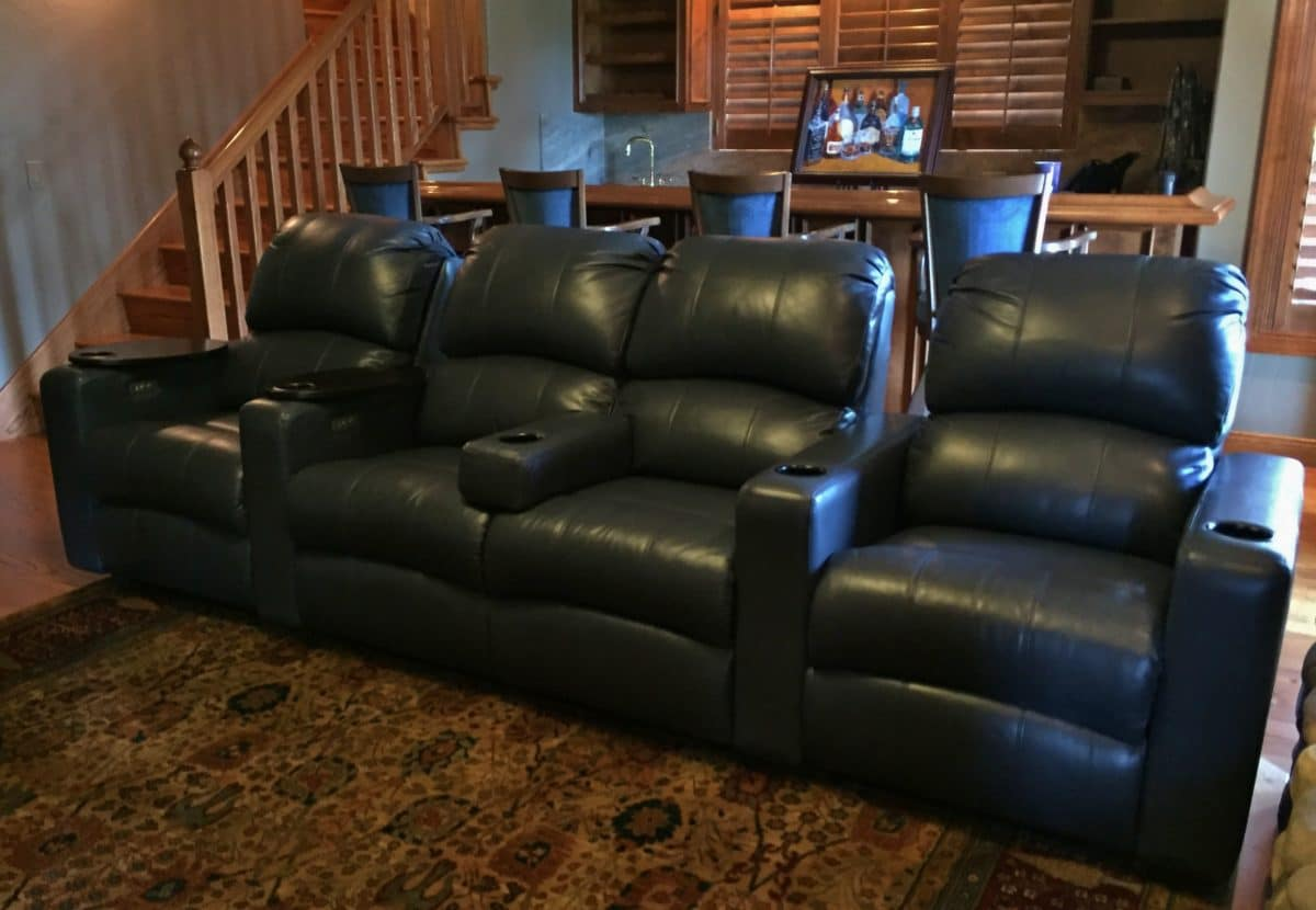 Home Theater Seating Ideas