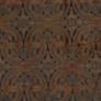 Designer Heraldic Cinnamon Brown